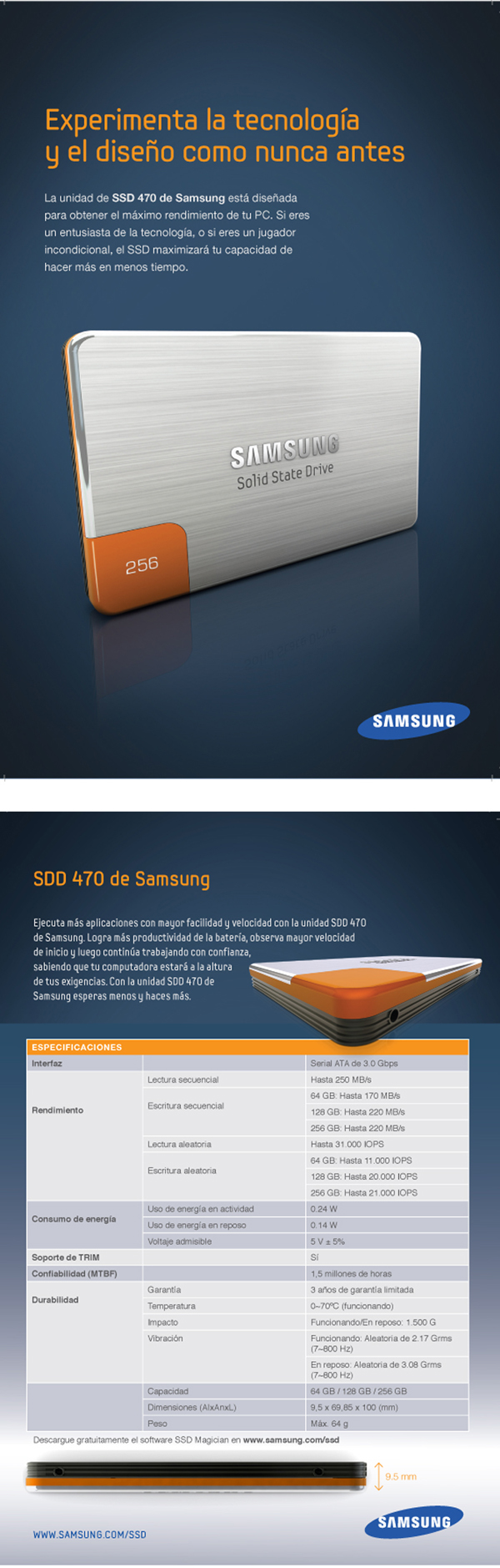 Samsung Experience Layout design, image retouching, pre-press