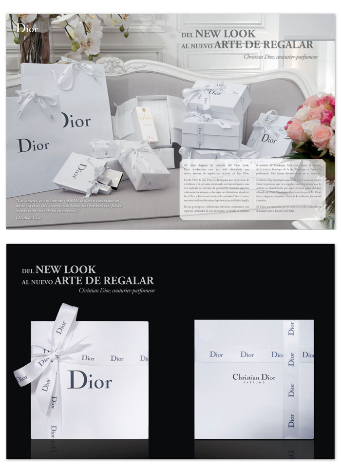 Dior Advertorials
