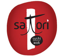 Satori Restaurant Logo and Identity