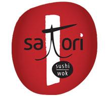 Satori Restaurant Logo and Identity